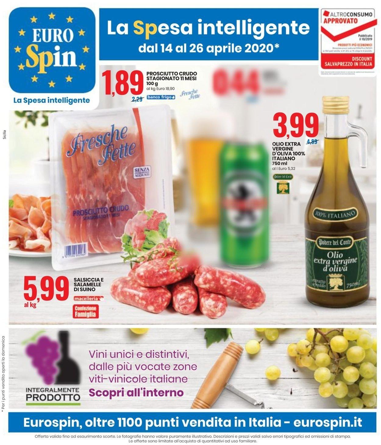 Volantino EURO Spin - Offerte 14/04-26/04/2020