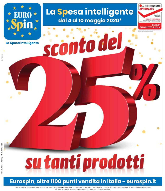 Volantino EURO Spin - Offerte 04/05-10/05/2020