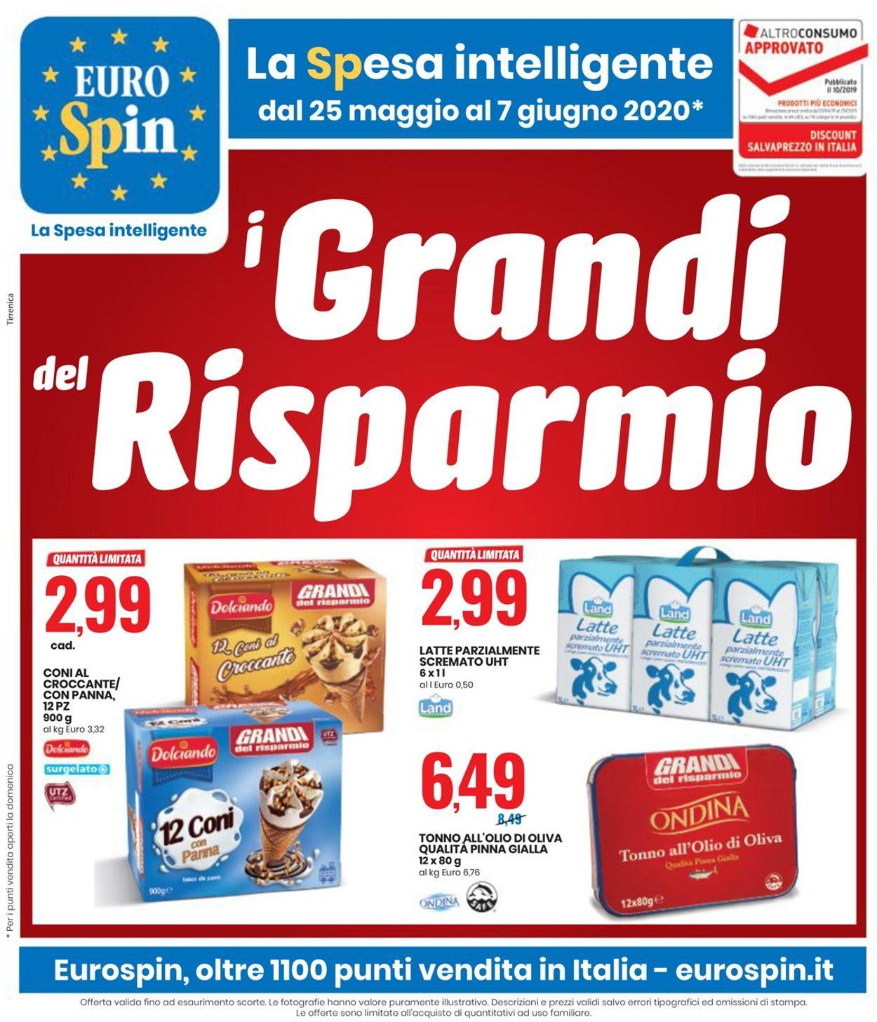 Volantino EURO Spin - Offerte 25/05-07/06/2020