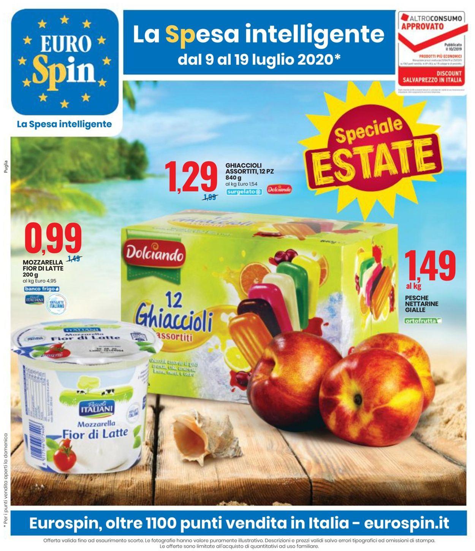 Volantino EURO Spin - Offerte 09/07-19/07/2020
