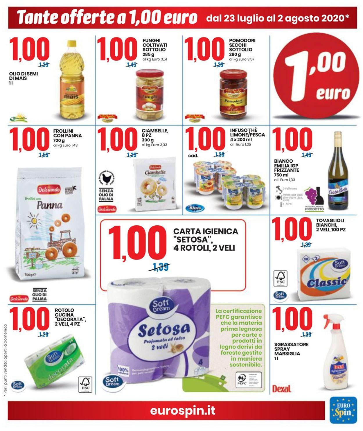 Volantino EURO Spin - Offerte 23/07-02/08/2020 (Pagina 5)
