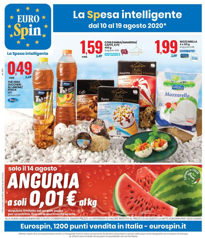Volantino EURO Spin - Offerte 10/08-19/08/2020