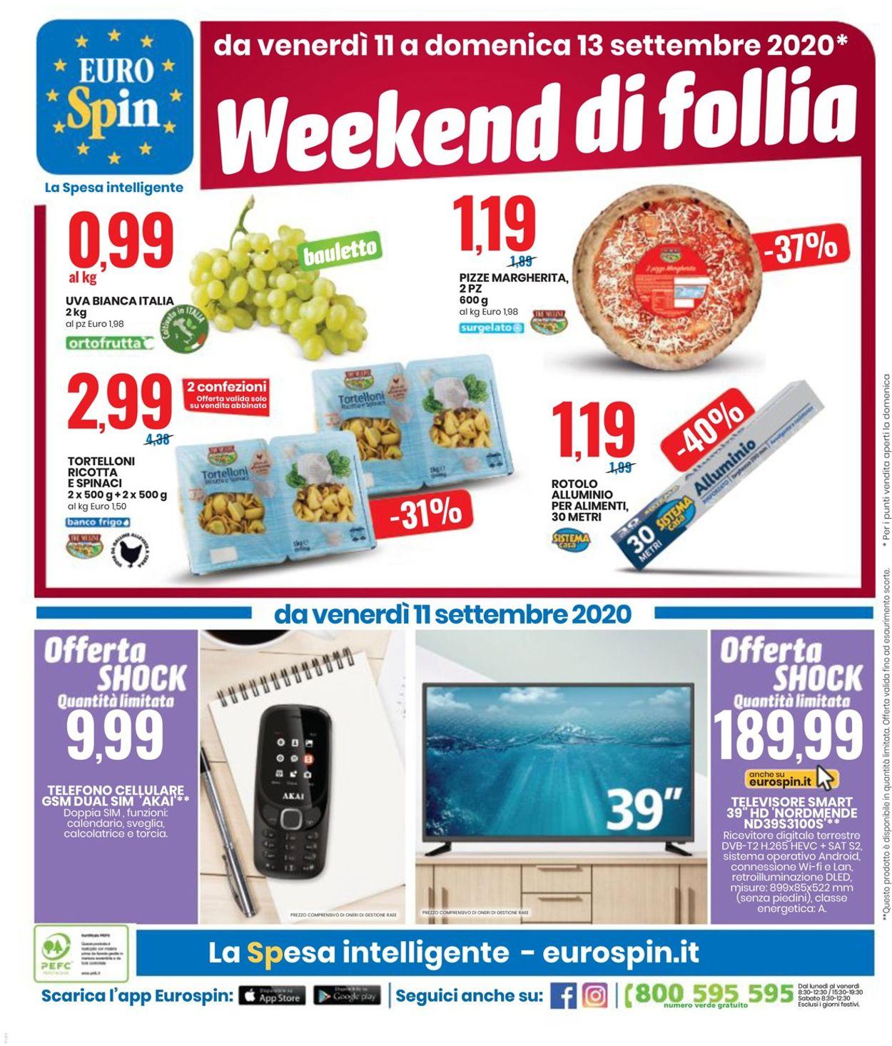 Volantino EURO Spin - Offerte 31/08-13/09/2020 (Pagina 20)