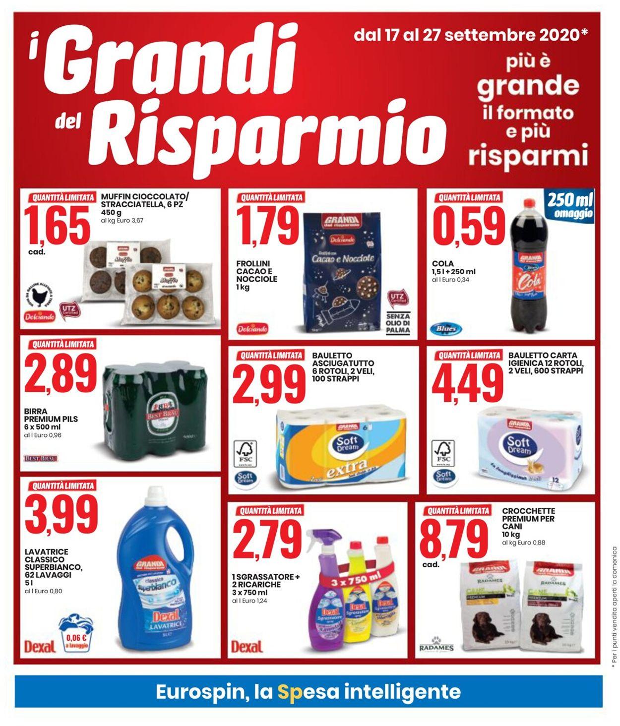 Volantino EURO Spin - Offerte 17/09-27/09/2020 (Pagina 4)