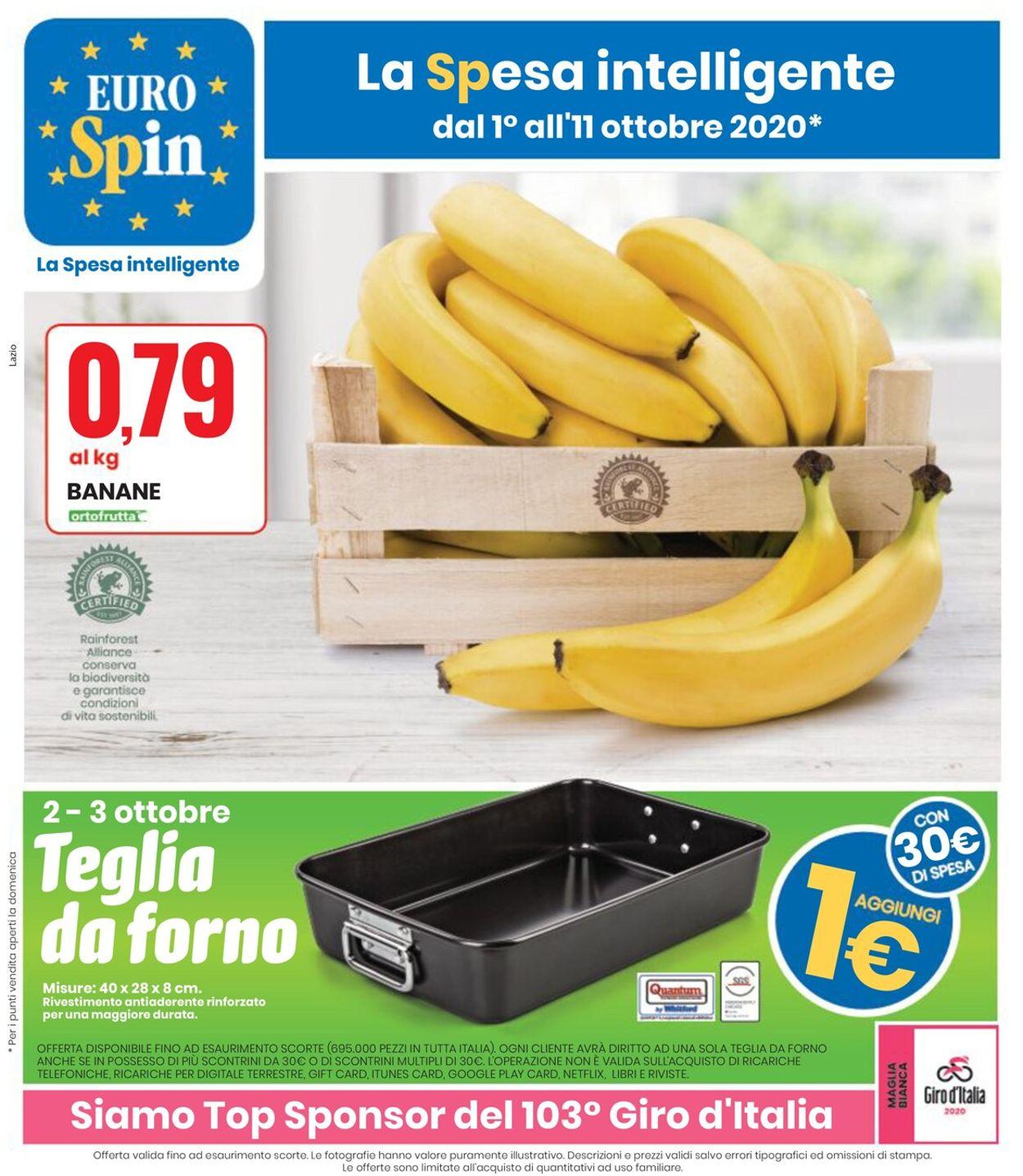 Volantino EURO Spin - Offerte 01/10-11/10/2020