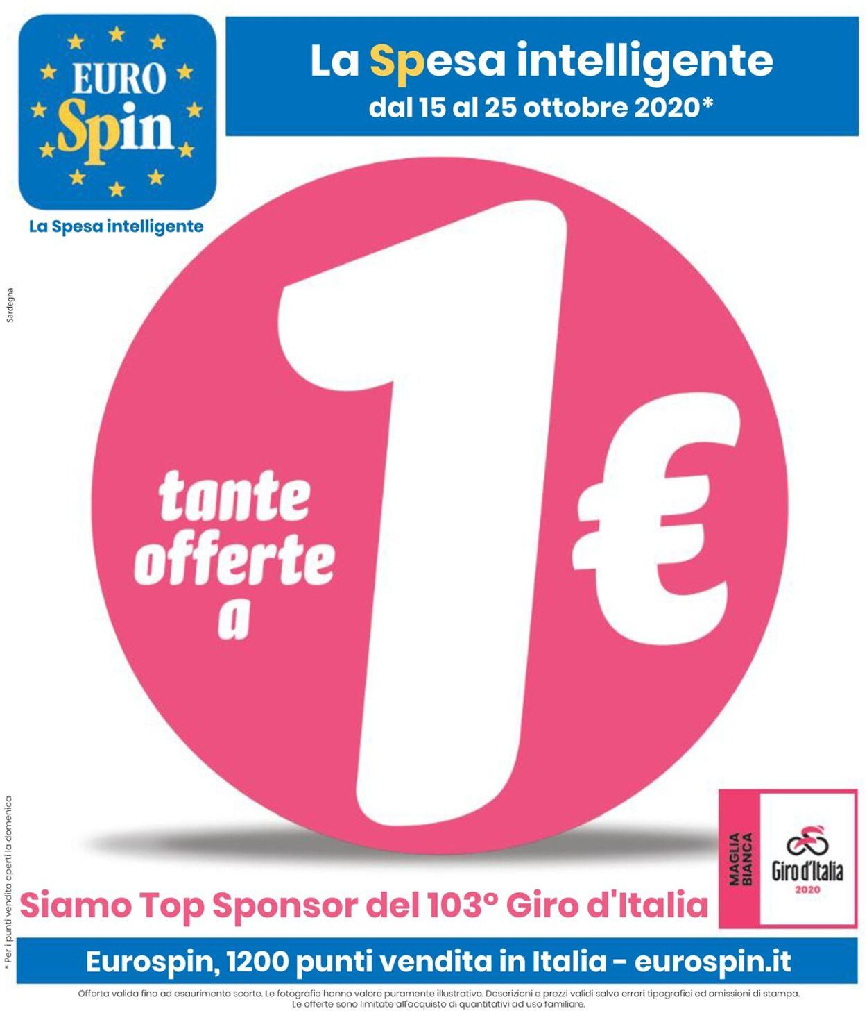 Volantino EURO Spin - Offerte 15/10-25/10/2020