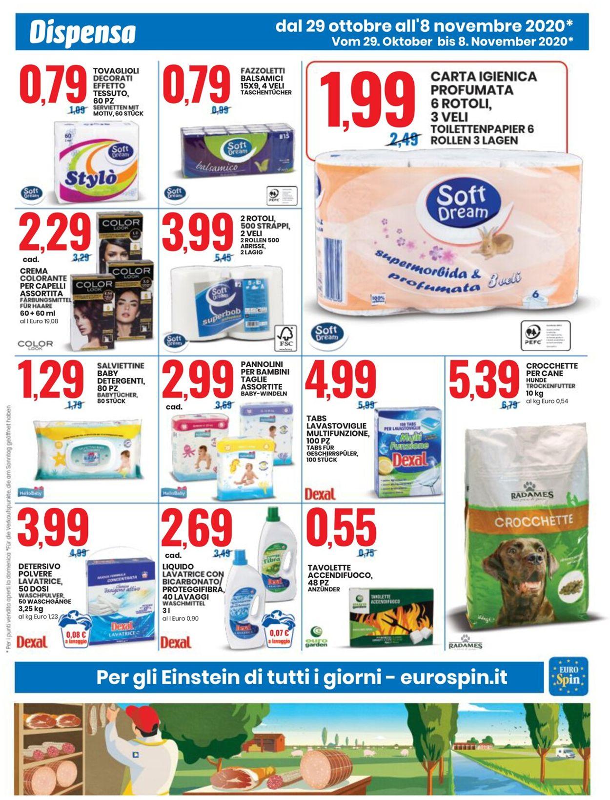 Volantino EURO Spin - Offerte 29/10-08/11/2020 (Pagina 7)