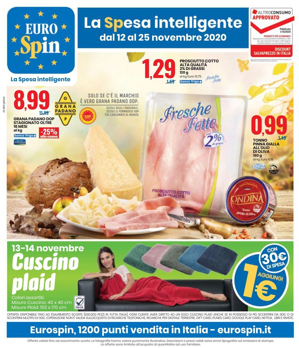 Volantino EURO Spin - Offerte 12/11-25/11/2020