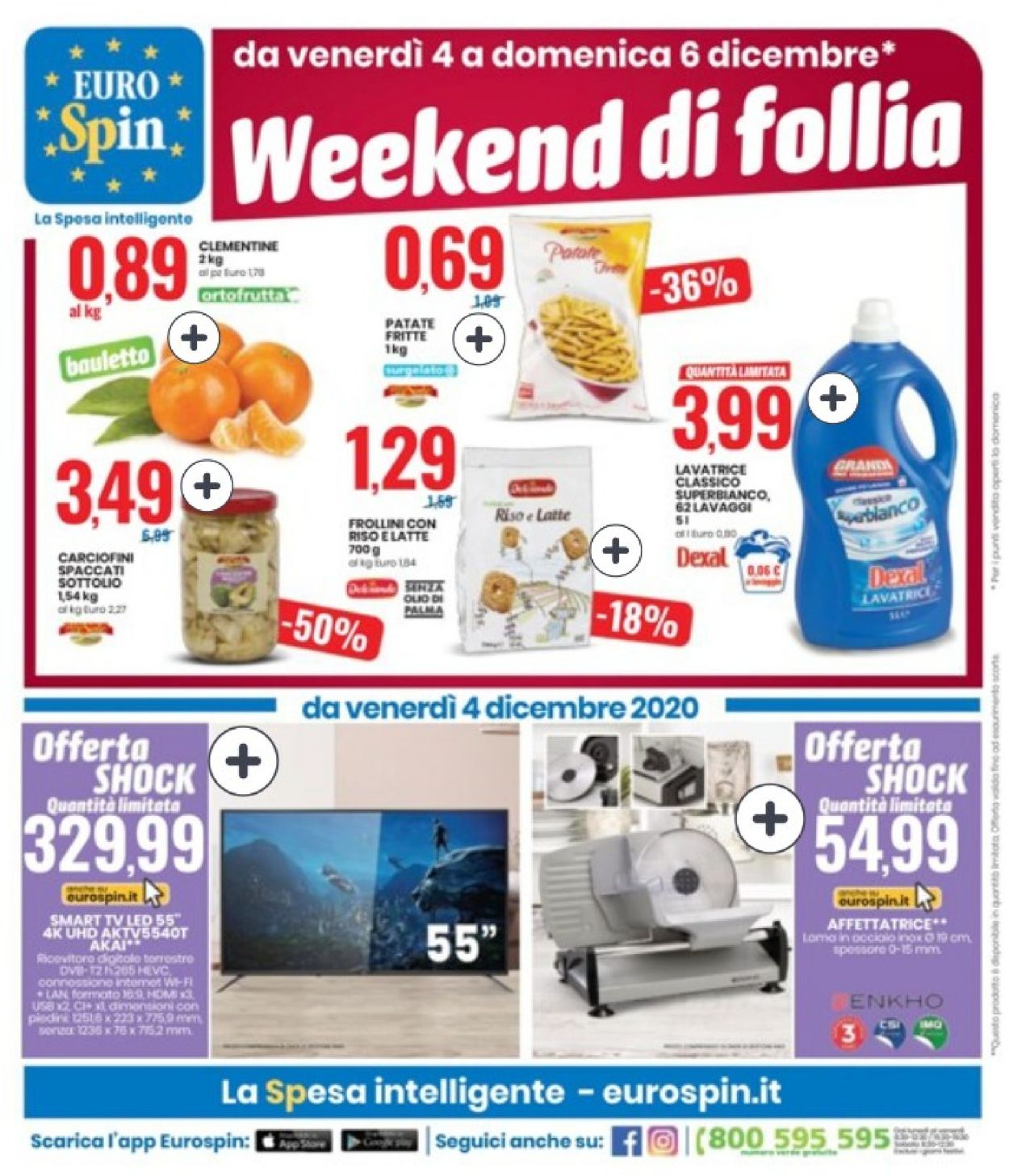 Volantino EURO Spin - Black Friday 2020 - Offerte 26/11-09/12/2020 (Pagina 21)