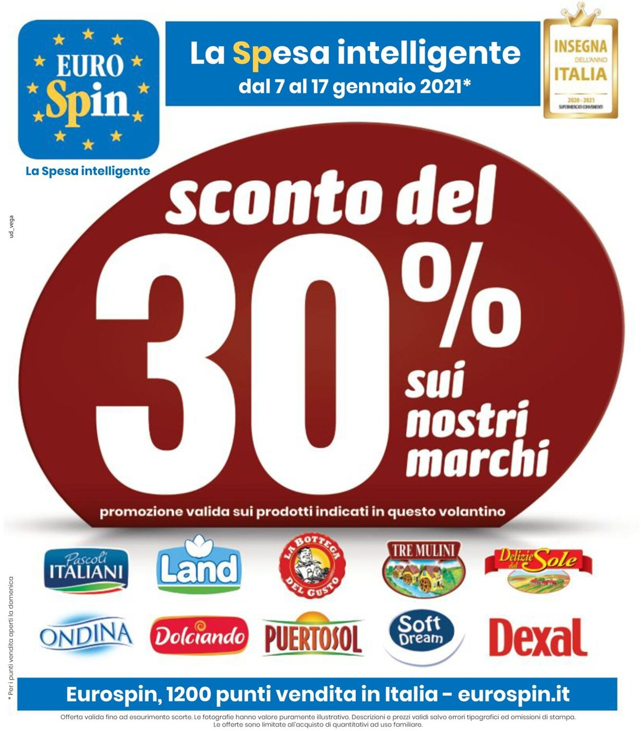 Volantino EURO Spin - Offerte 07/01-17/01/2021