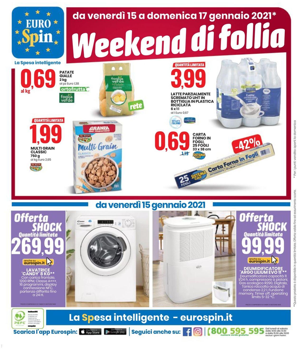 Volantino EURO Spin - Offerte 07/01-17/01/2021 (Pagina 20)