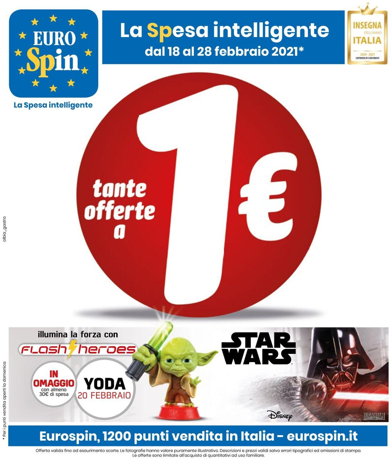 Volantino EURO Spin - Offerte 18/02-28/02/2021