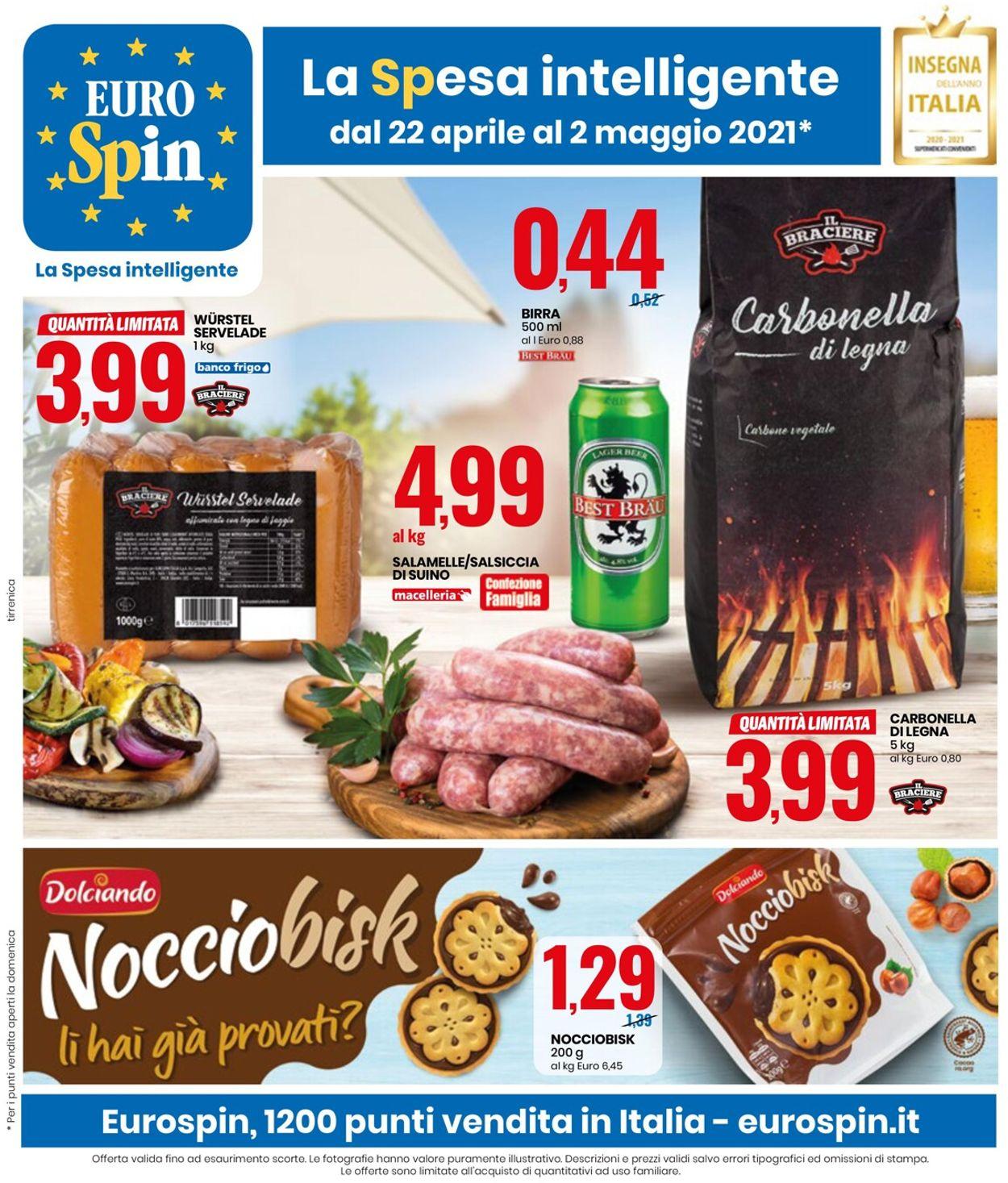 Volantino EURO Spin - Offerte 22/04-02/05/2021