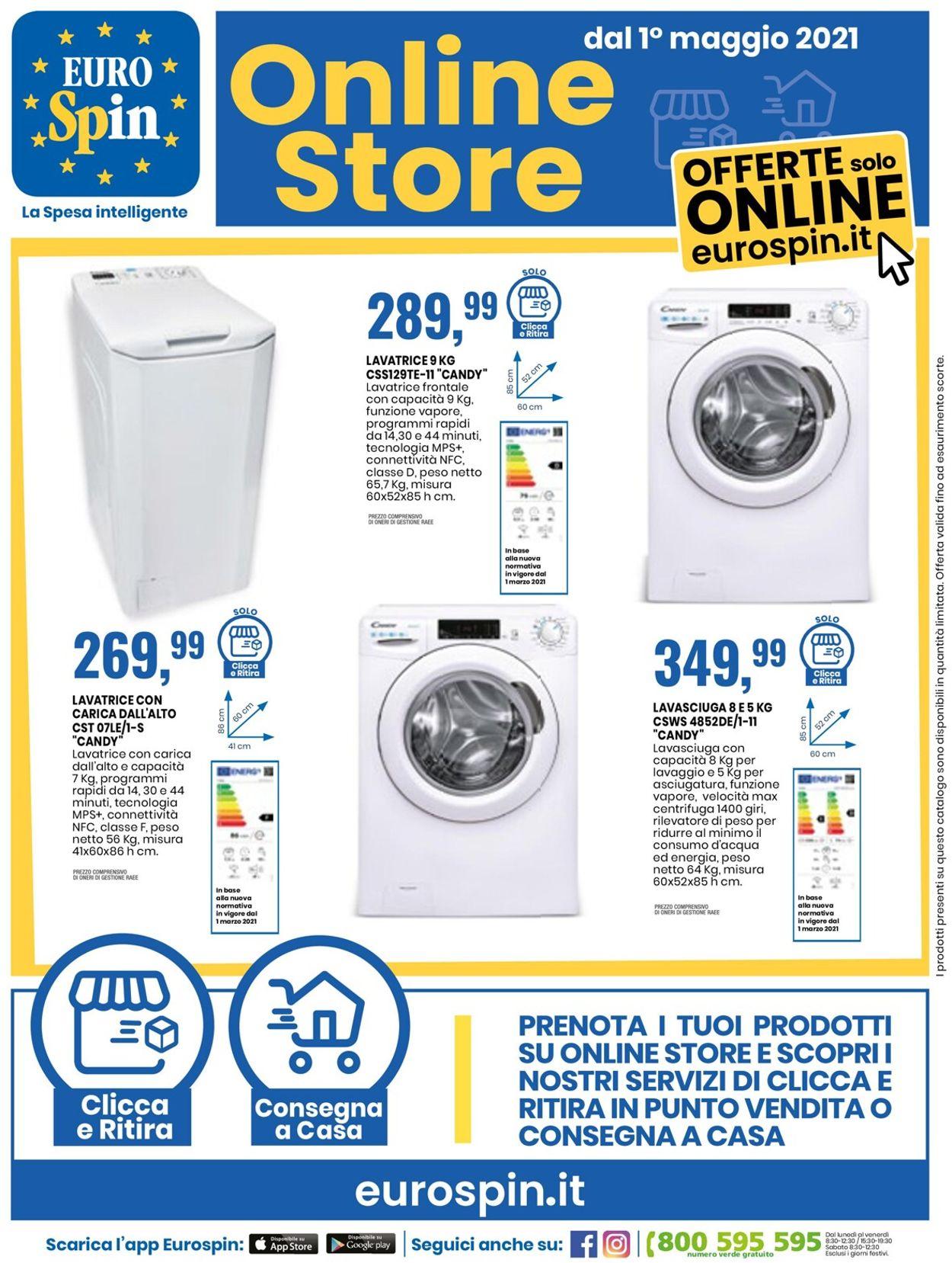 Volantino EURO Spin - Offerte 17/05-23/05/2021 (Pagina 26)