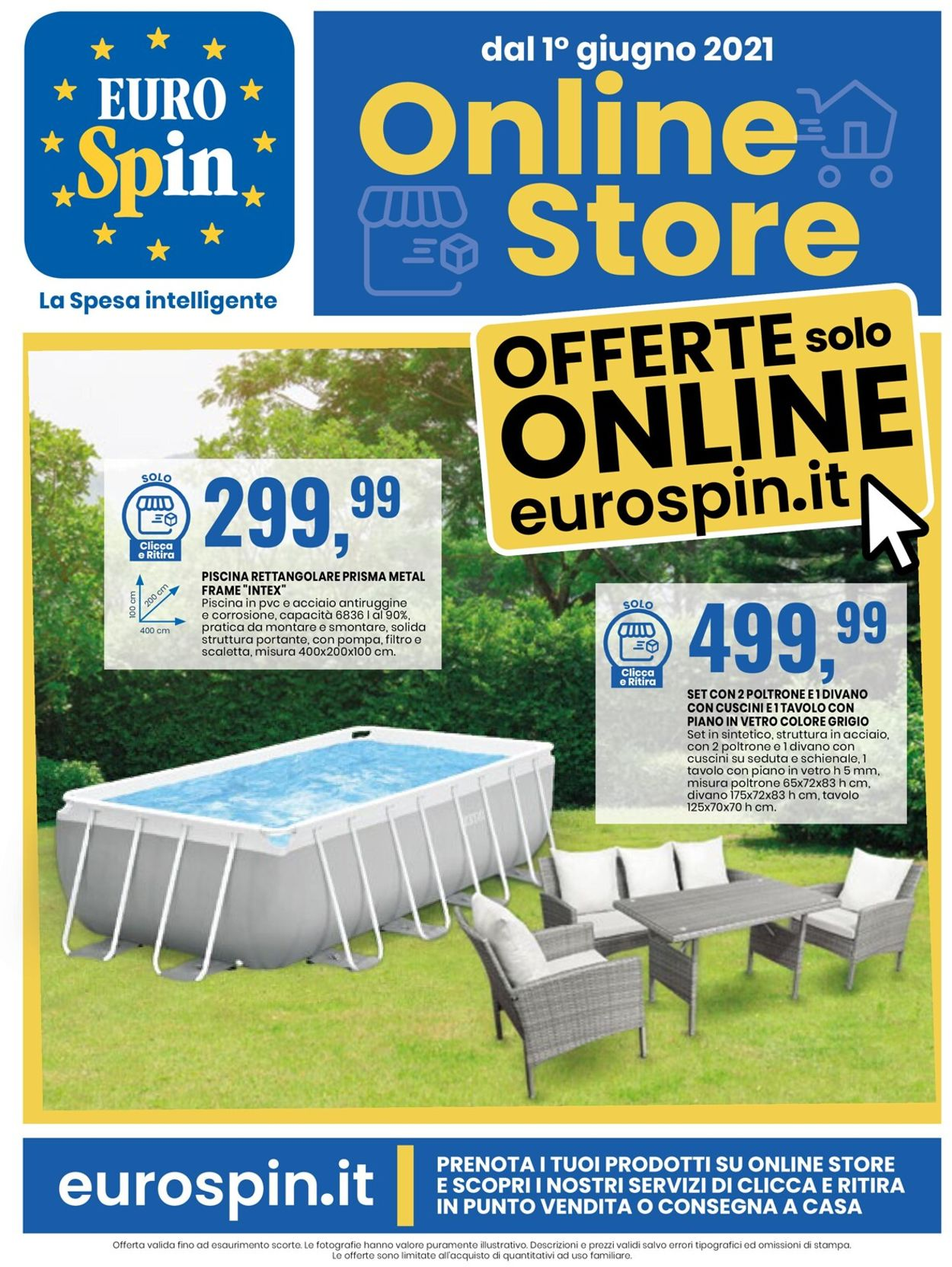 Volantino EURO Spin - Offerte 24/05-06/06/2021 (Pagina 9)