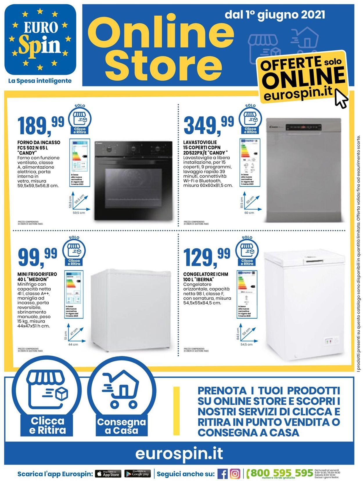 Volantino EURO Spin - Offerte 10/06-20/06/2021 (Pagina 30)