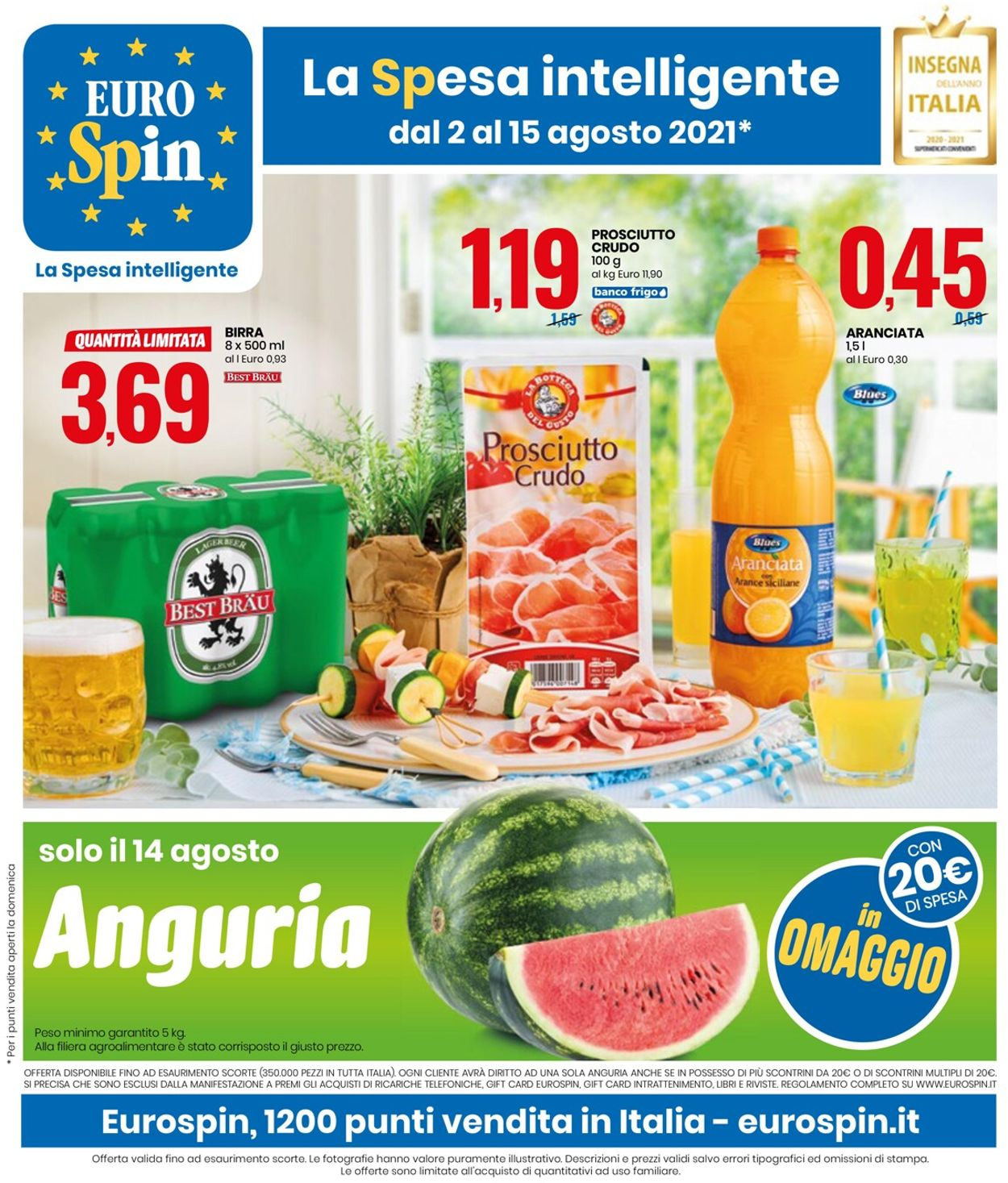 Volantino EURO Spin - Offerte 02/08-15/08/2021
