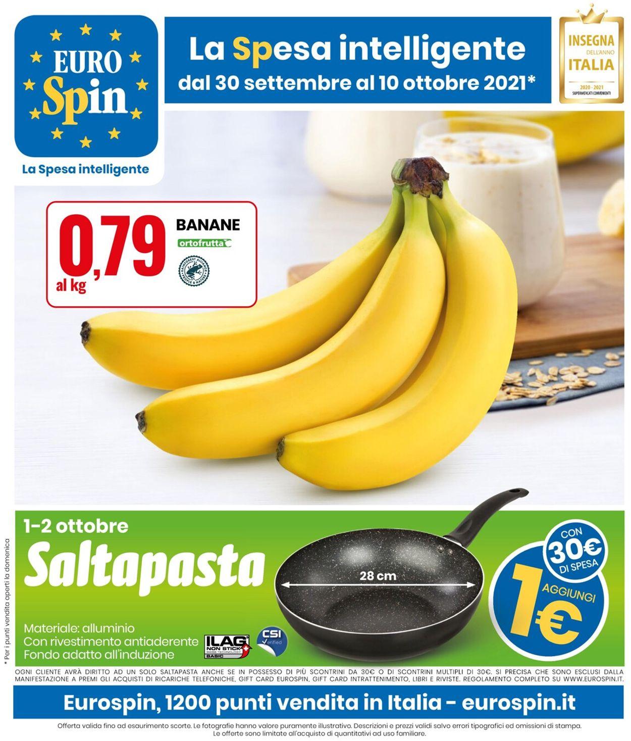 Volantino EURO Spin - Offerte 30/09-10/10/2021