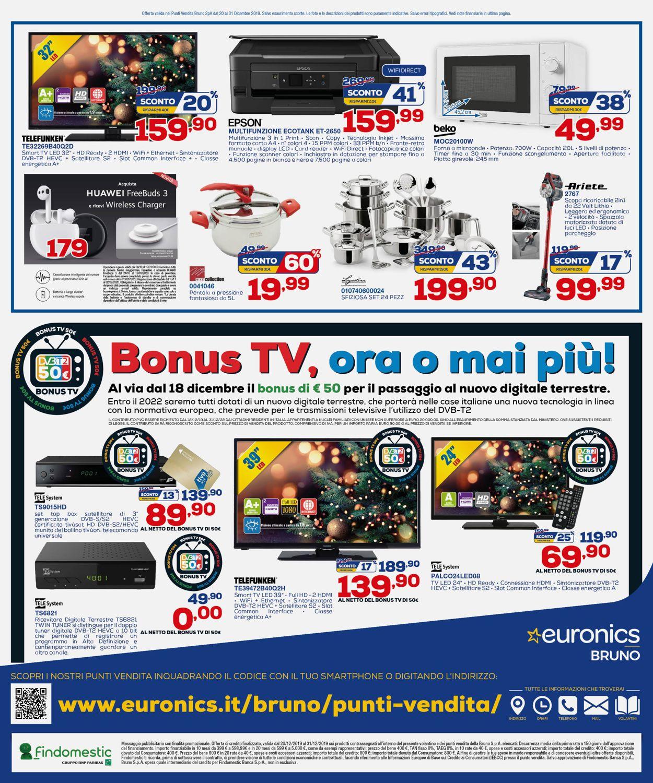 Volantino Euronics - Offerte 20/12-31/12/2019 (Pagina 12)