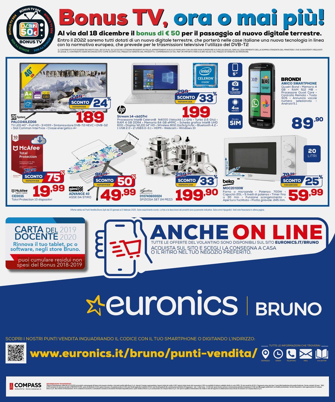 Volantino Euronics - Offerte 23/01-05/02/2020 (Pagina 16)
