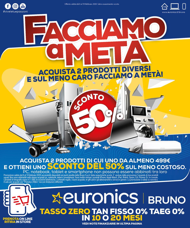 Volantino Euronics - Offerte 06/02-19/02/2020