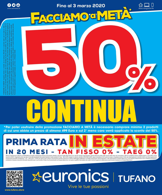 Volantino Euronics - Offerte 20/02-03/03/2020