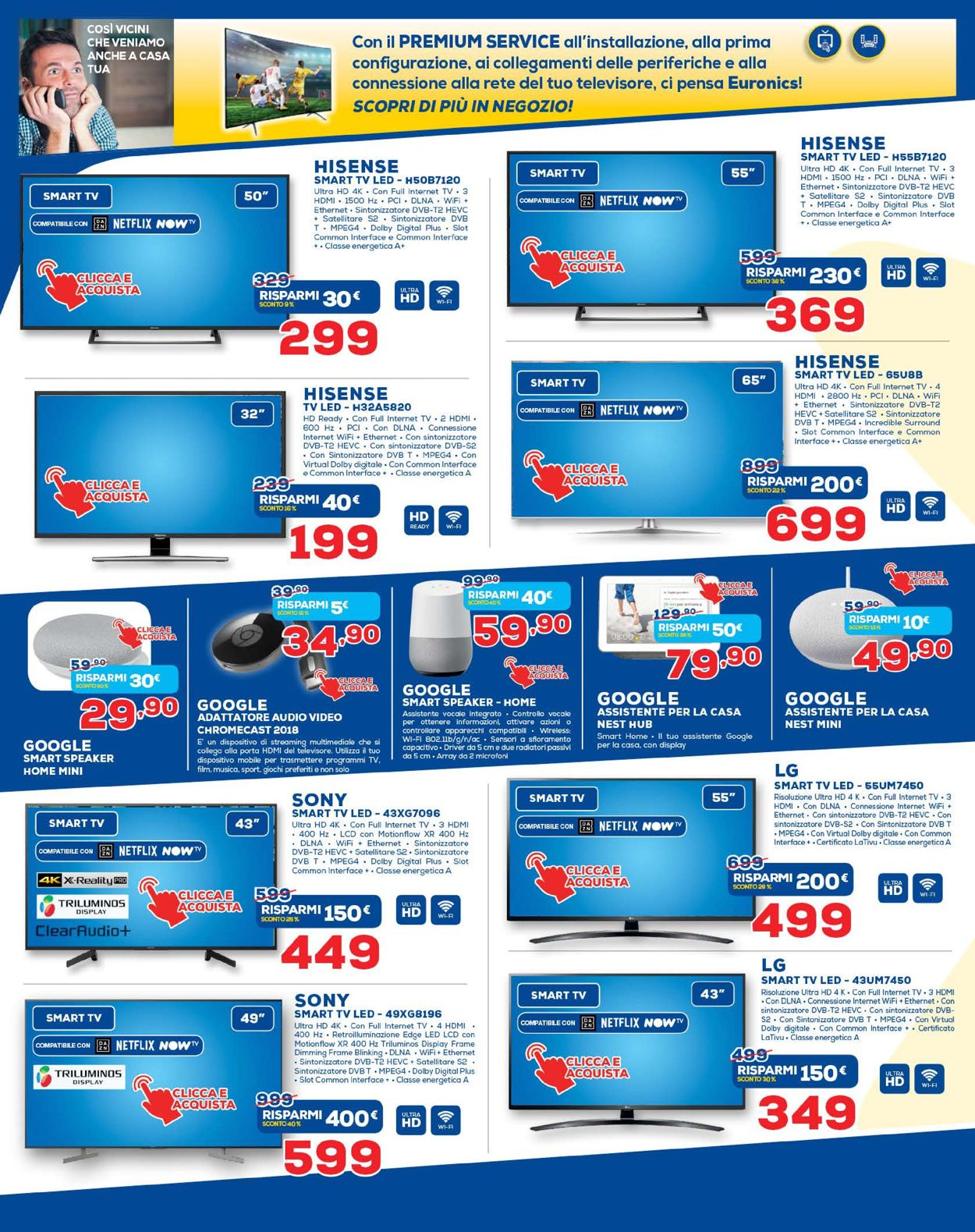 Volantino Euronics - Offerte 19/03-03/04/2020 (Pagina 4)