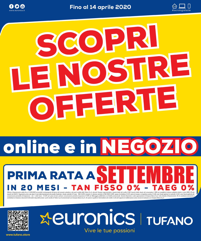 Volantino Euronics - Offerte 06/04-14/04/2020