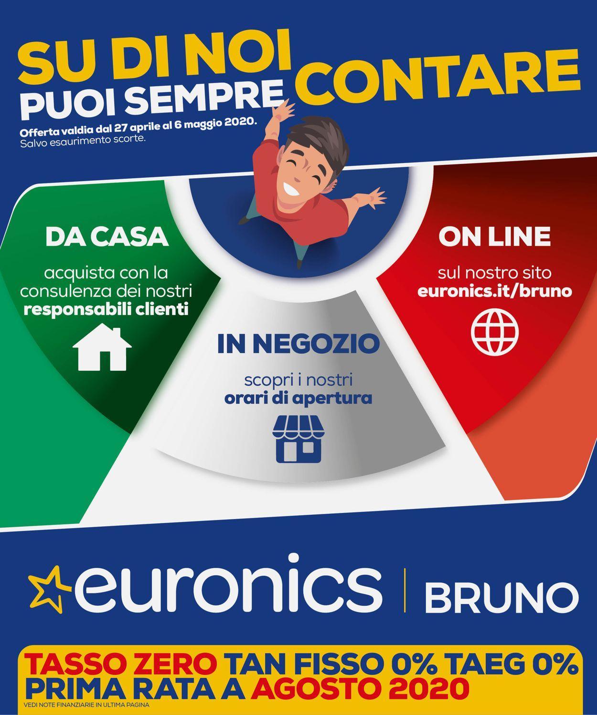 Volantino Euronics - Offerte 27/04-06/05/2020