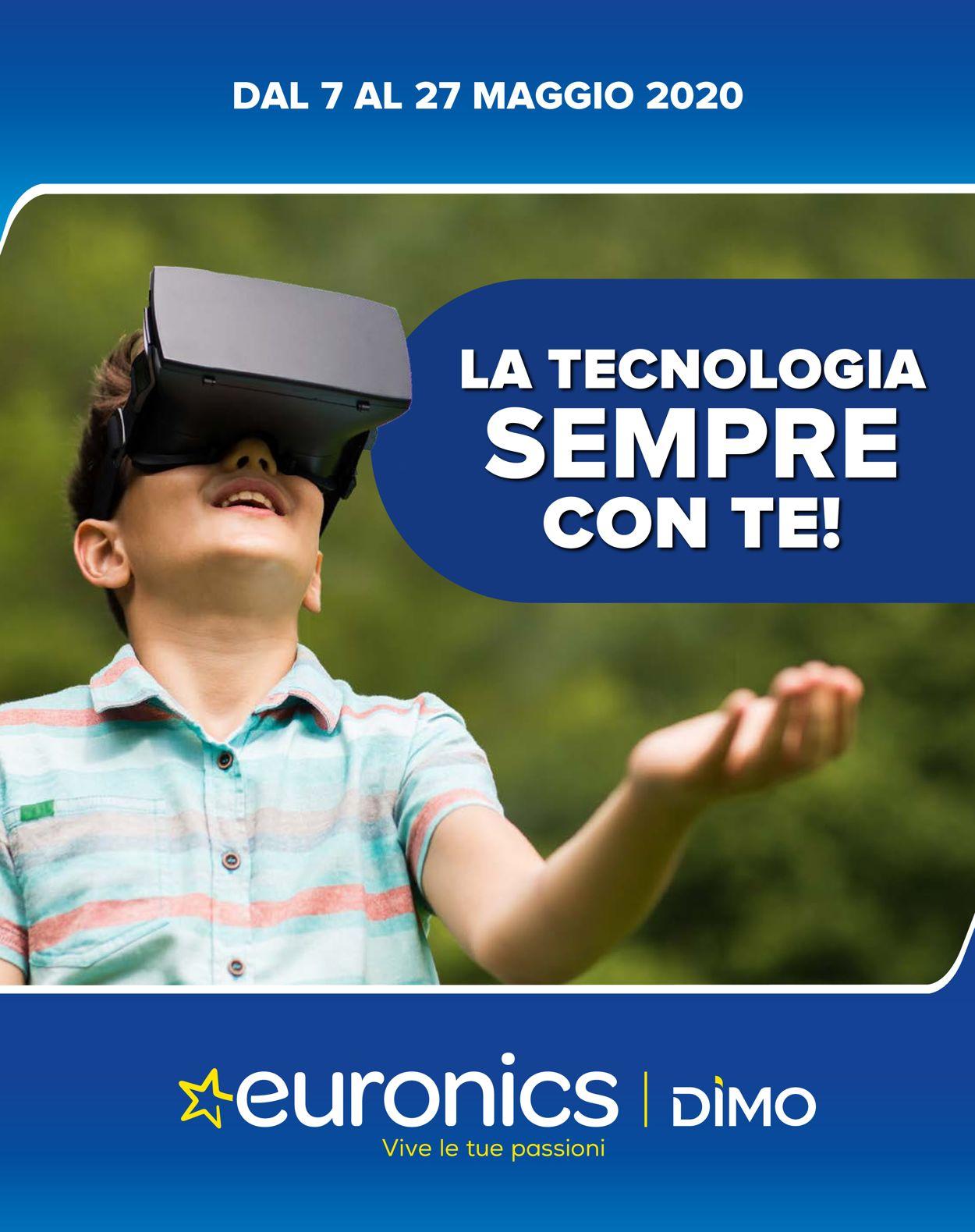Volantino Euronics - Offerte 07/05-27/05/2020