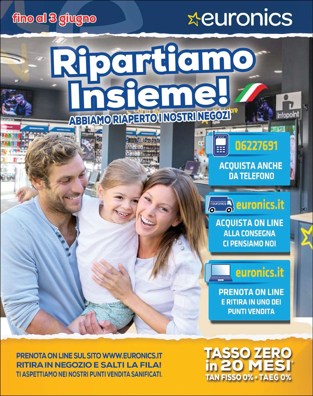 Volantino Euronics - Offerte 15/05-03/06/2020