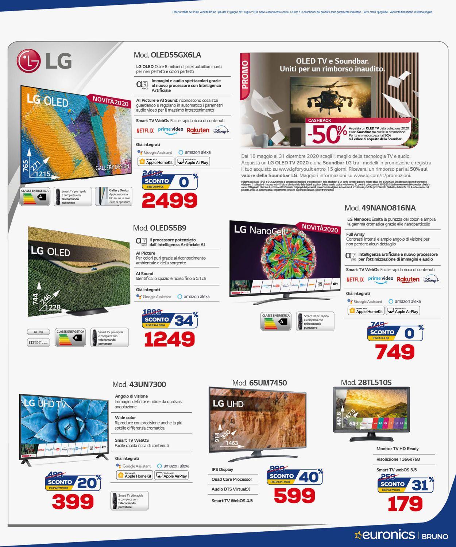 Volantino Euronics - Offerte 18/06-01/07/2020 (Pagina 4)
