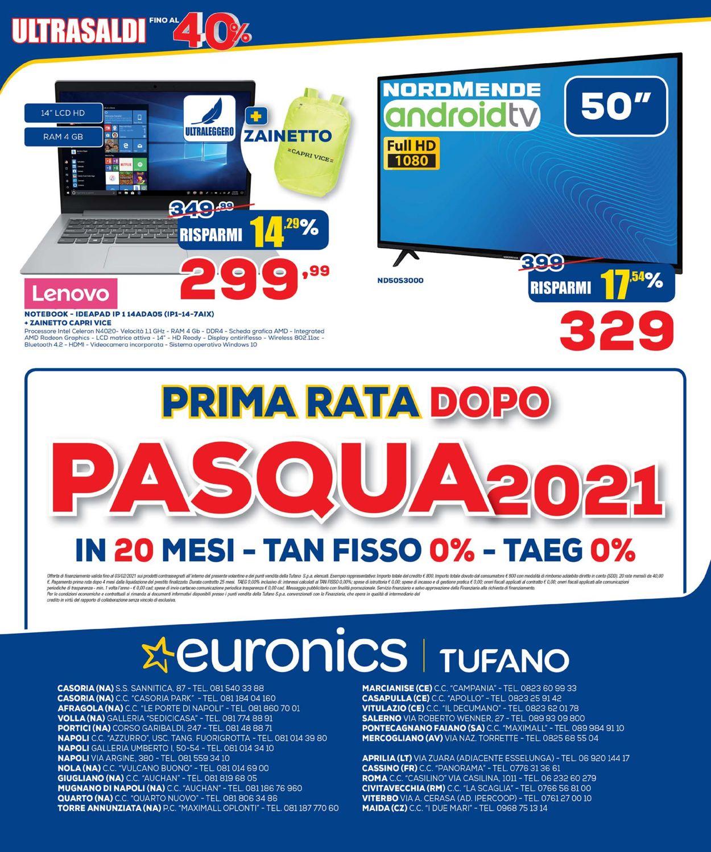 Volantino Euronics Tufano - Offerte 21/01-03/02/2021 (Pagina 26)