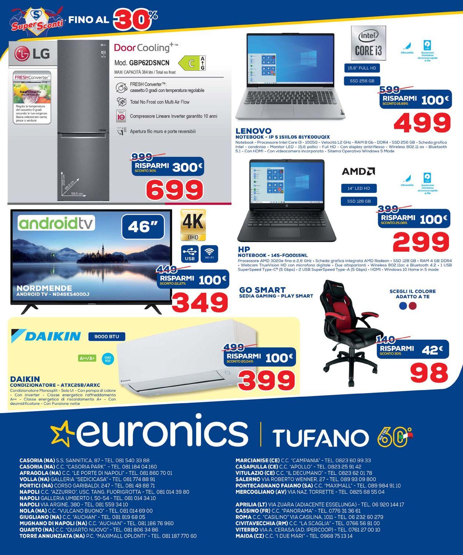 Volantino Euronics - Offerte 14/05-02/06/2021 (Pagina 61)