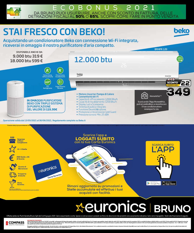 Volantino Euronics - Black Friday Estate - Offerte 03/06-16/06/2021 (Pagina 31)