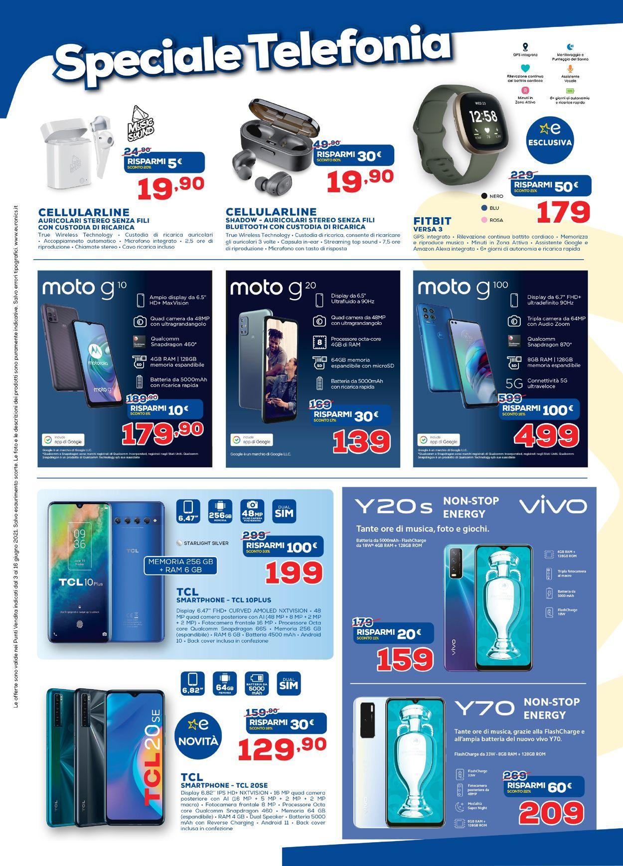Volantino Euronics - Offerte 01/06-16/06/2021 (Pagina 21)