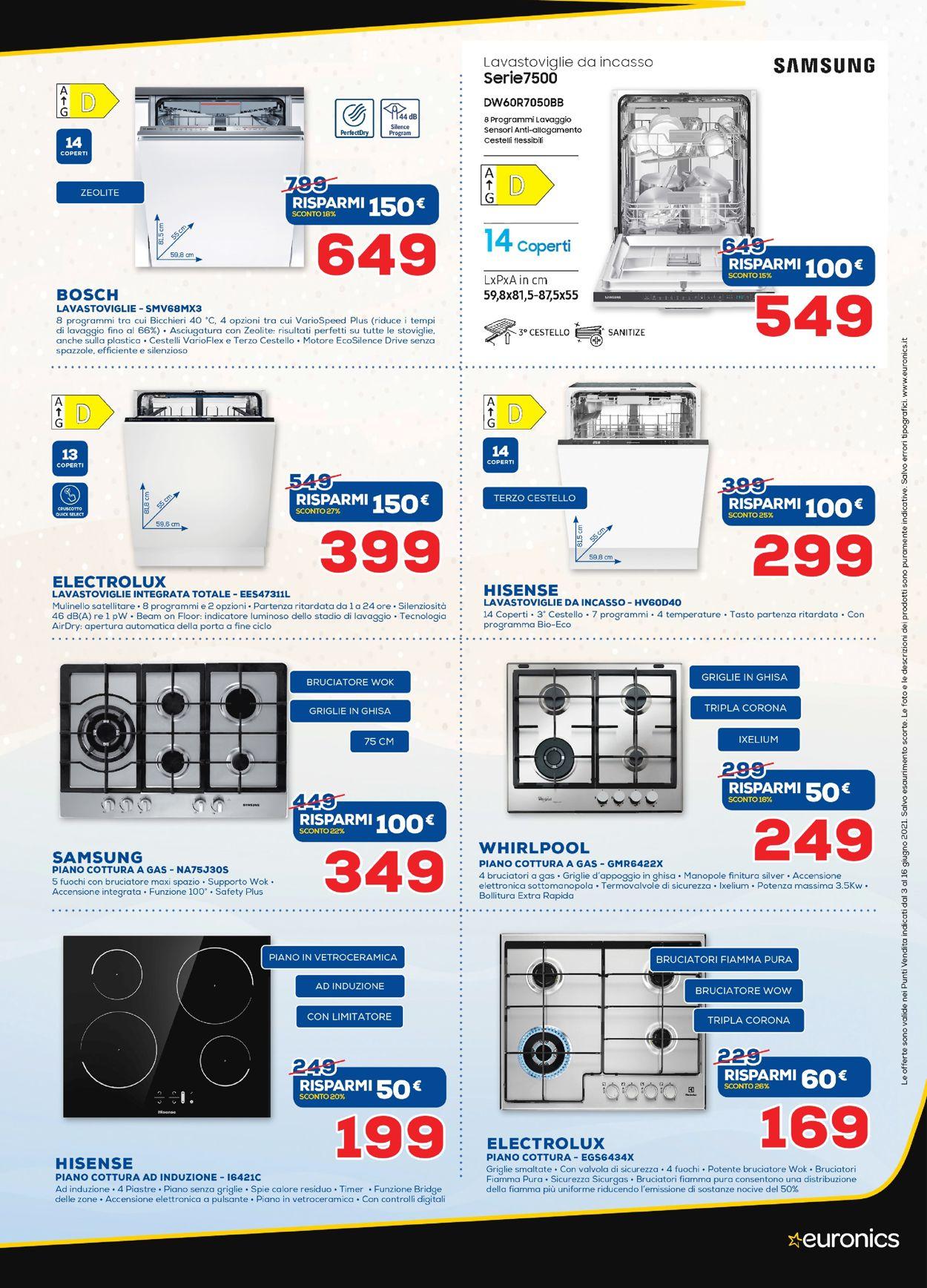 Volantino Euronics - Offerte 01/06-16/06/2021 (Pagina 35)