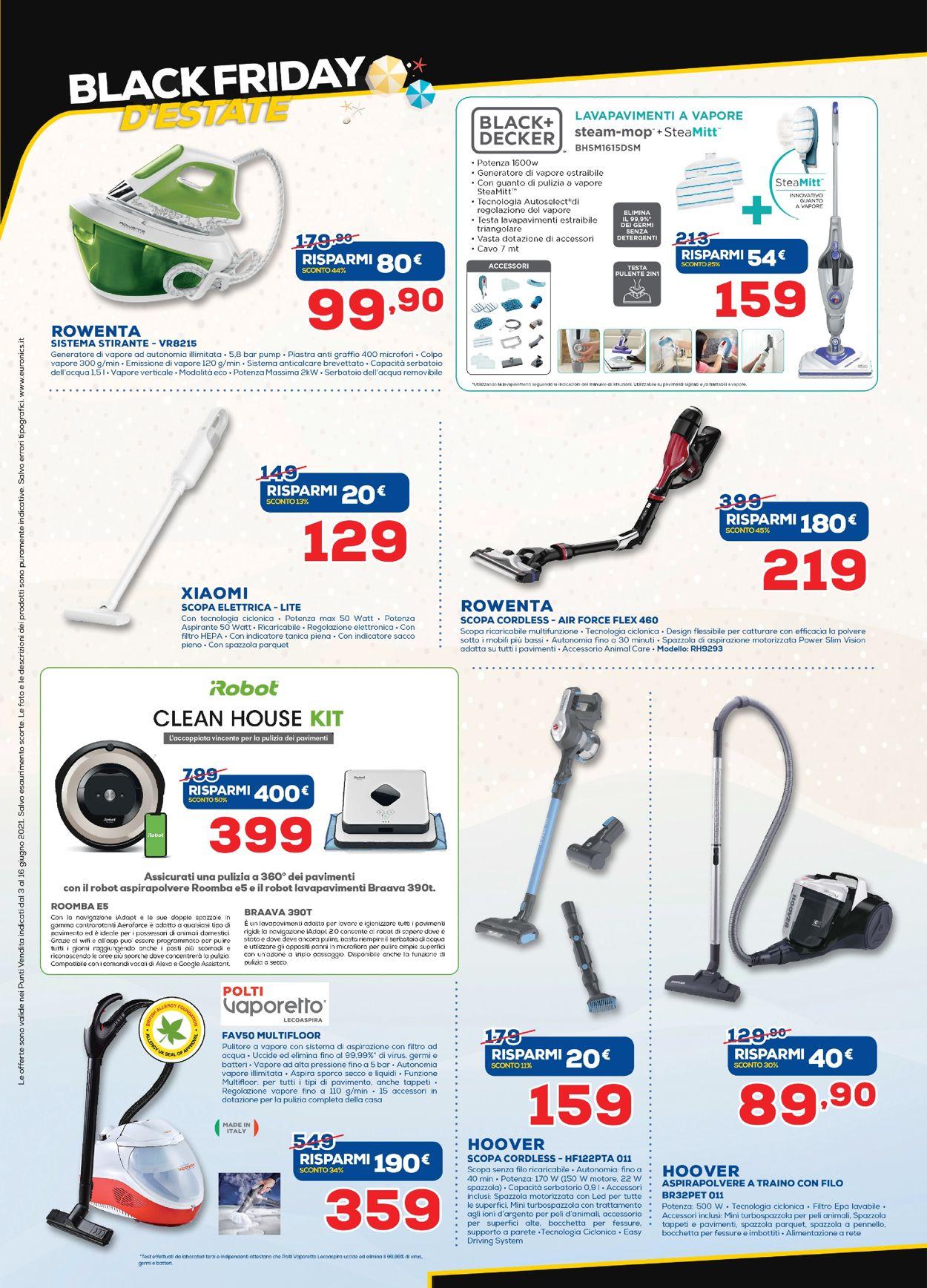 Volantino Euronics - Offerte 01/06-16/06/2021 (Pagina 36)