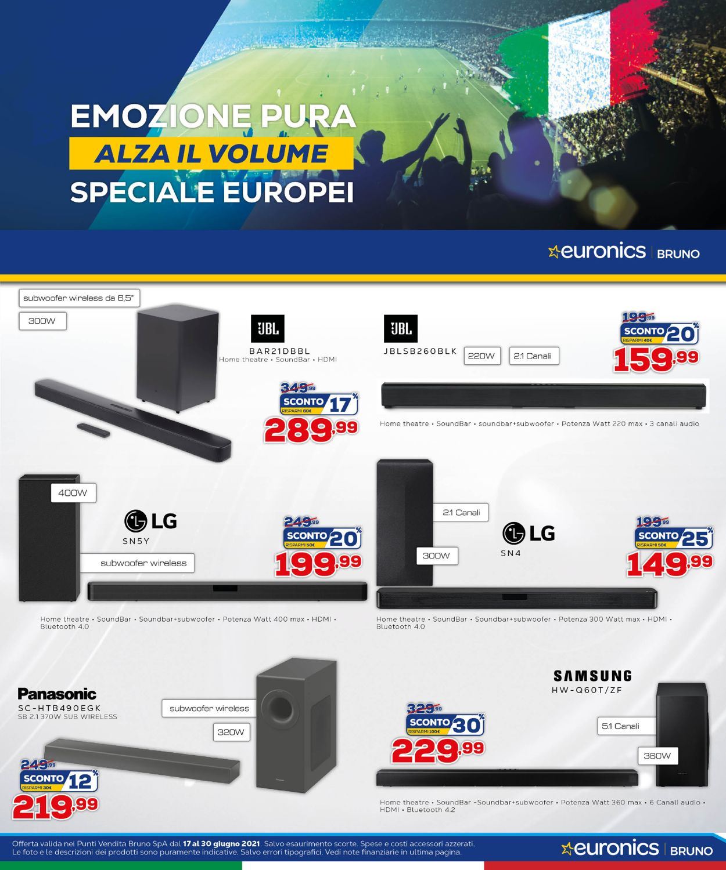 Volantino Euronics - Offerte 17/06-06/07/2021 (Pagina 10)