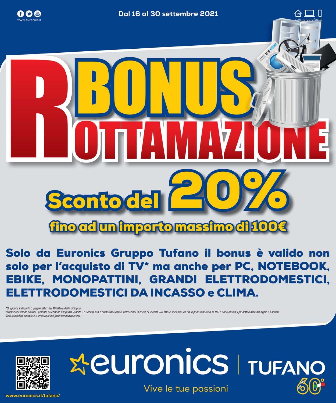 Volantino Euronics - Offerte 16/09-30/09/2021