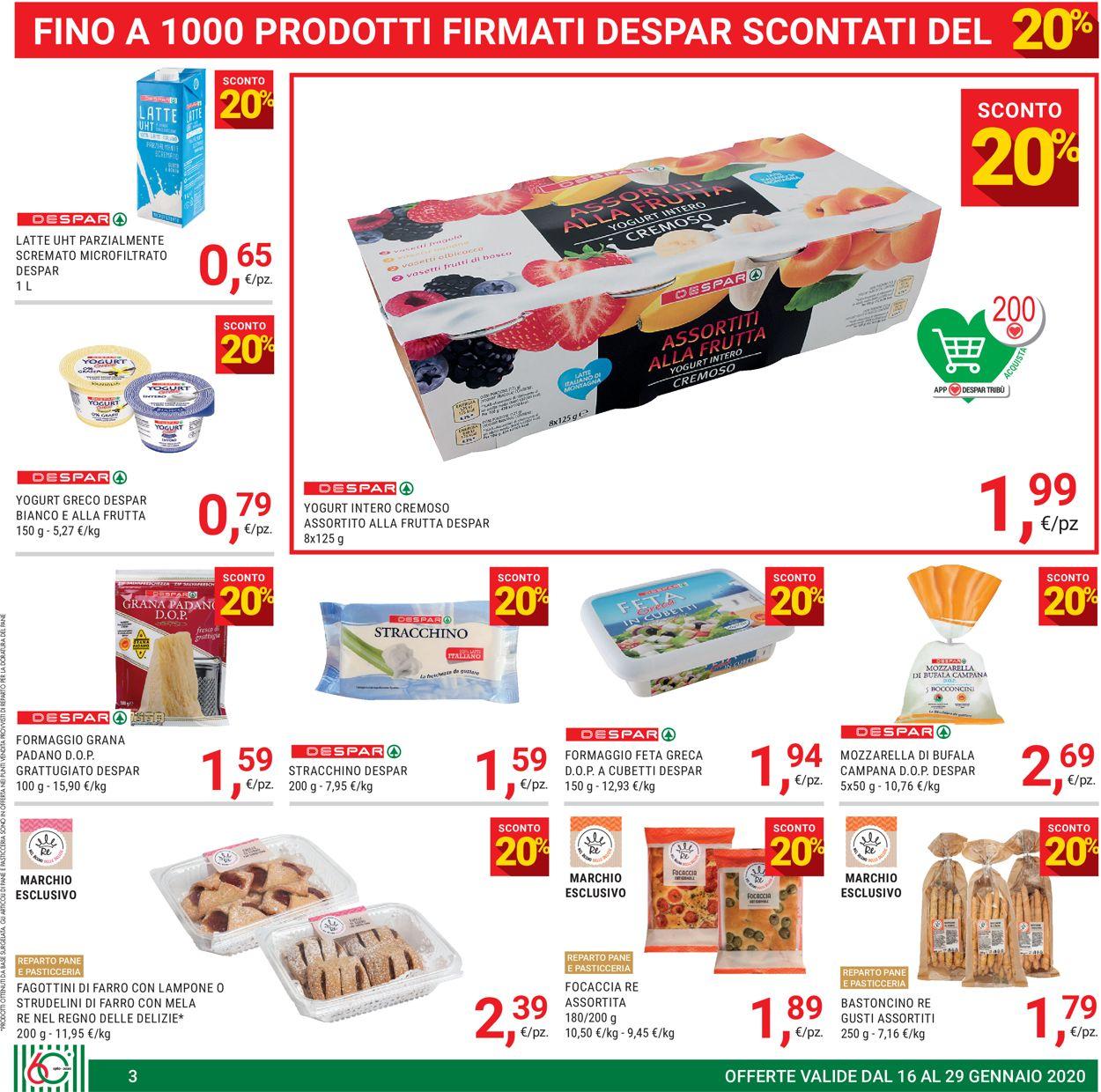 Volantino Eurospar - Offerte 16/01-29/01/2020 (Pagina 3)