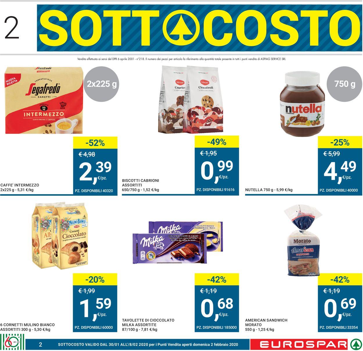 Volantino Eurospar - Offerte 30/01-12/02/2020 (Pagina 2)