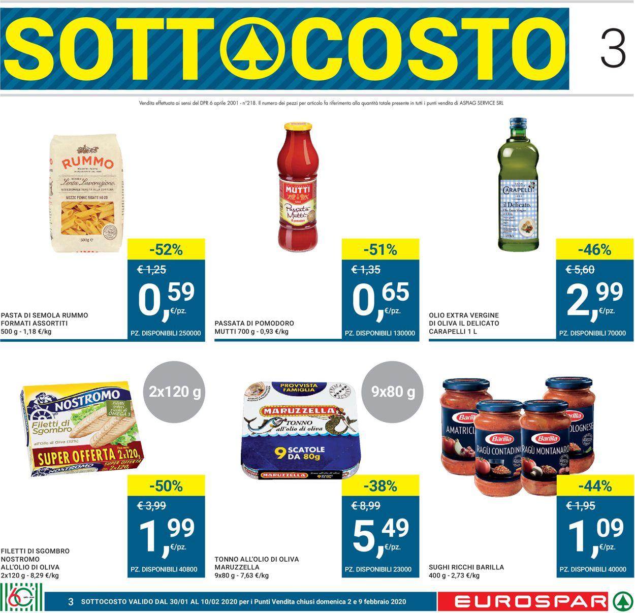 Volantino Eurospar - Offerte 30/01-12/02/2020 (Pagina 3)