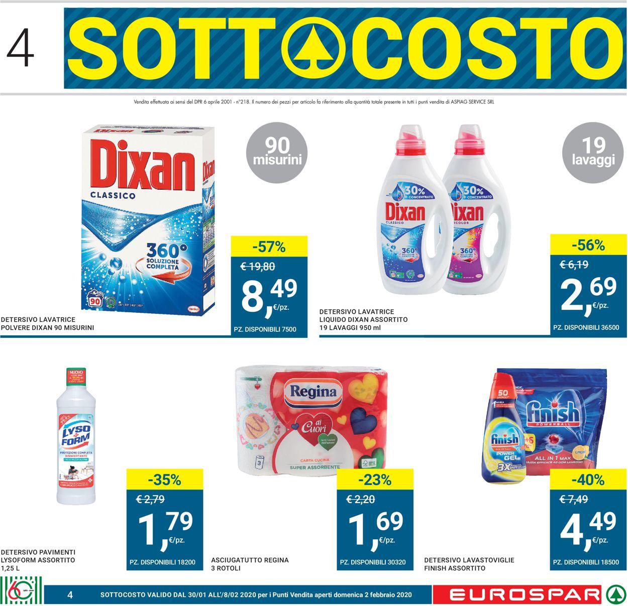 Volantino Eurospar - Offerte 30/01-12/02/2020 (Pagina 4)