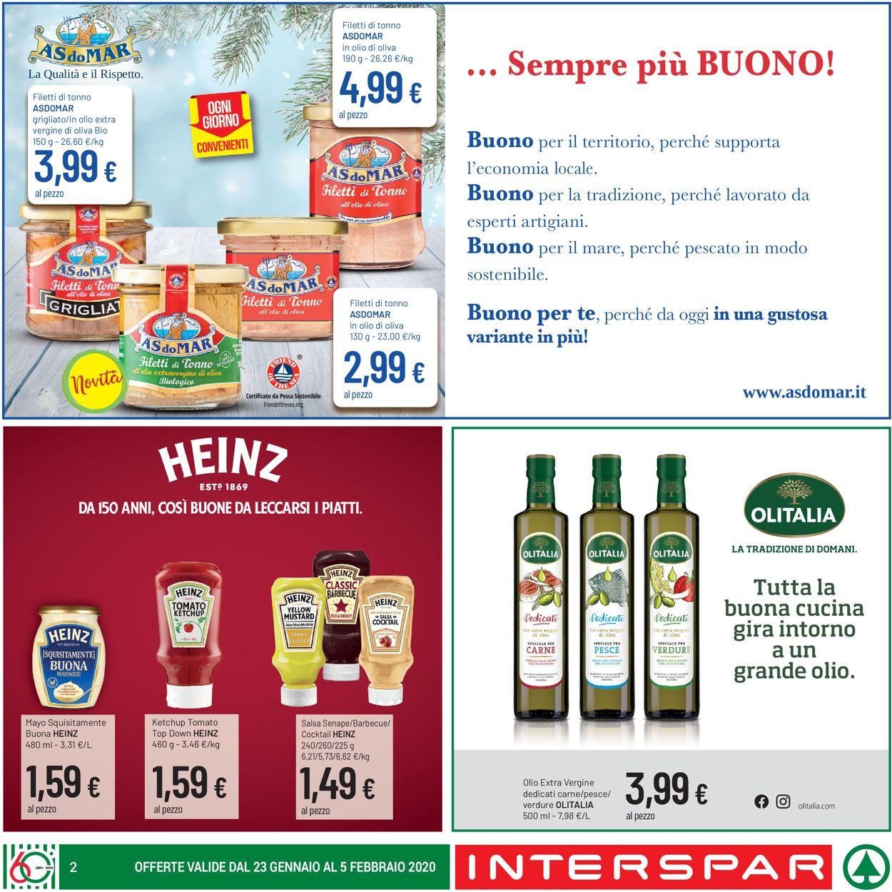 Volantino Eurospar - Offerte 23/01-05/02/2020 (Pagina 2)