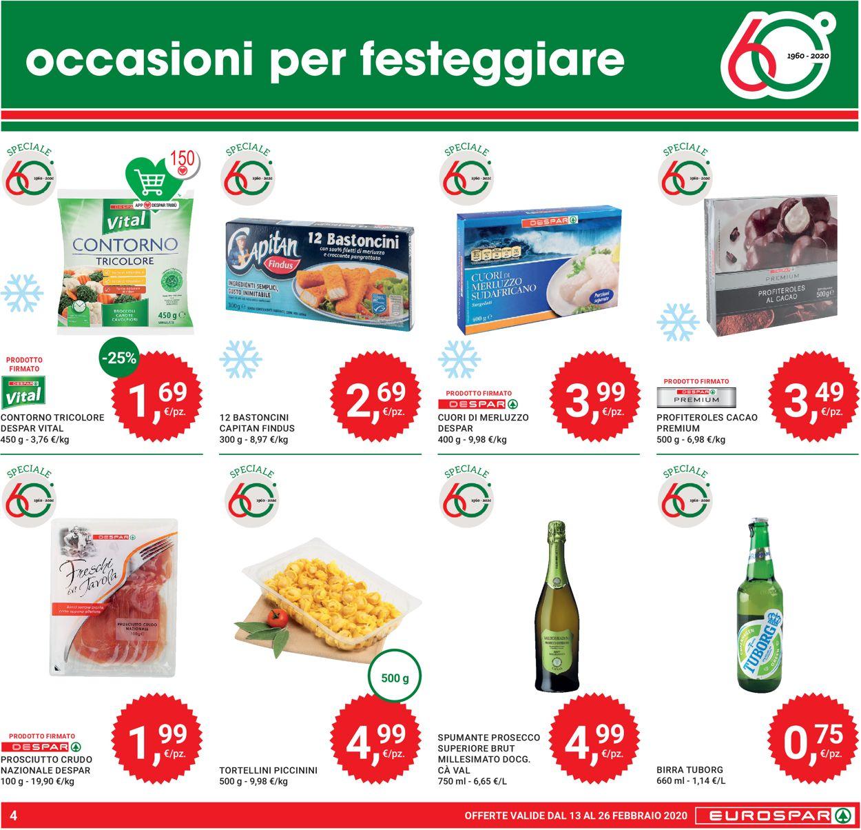 Volantino Eurospar - Offerte 13/02-26/02/2020 (Pagina 4)