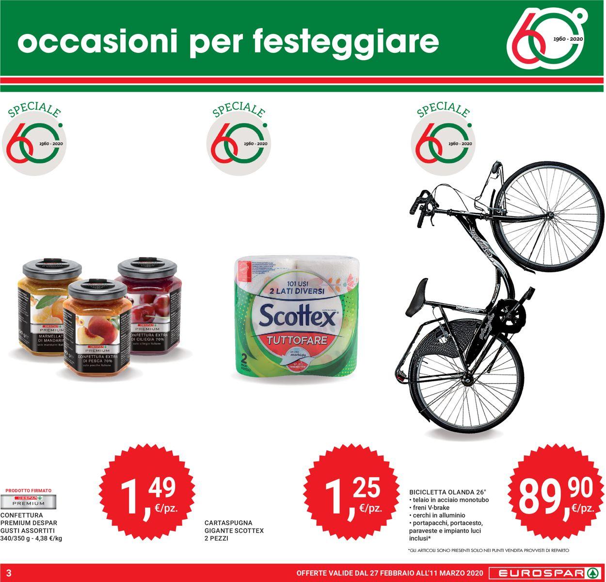 Volantino Eurospar - Offerte 27/02-11/03/2020 (Pagina 3)