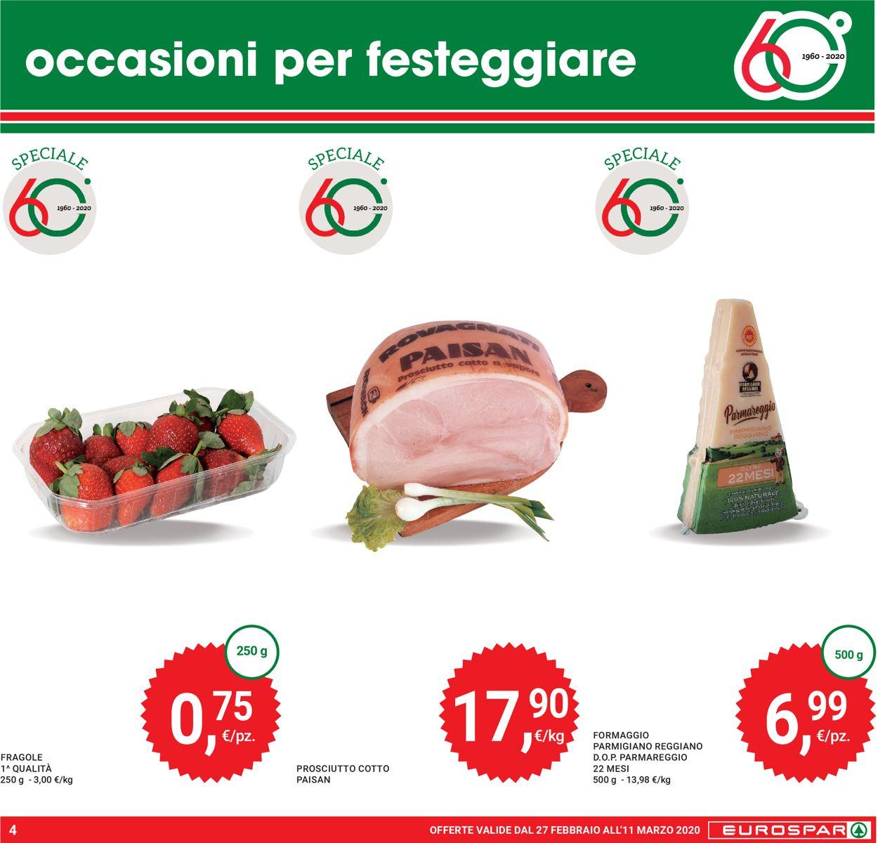 Volantino Eurospar - Offerte 27/02-11/03/2020 (Pagina 4)