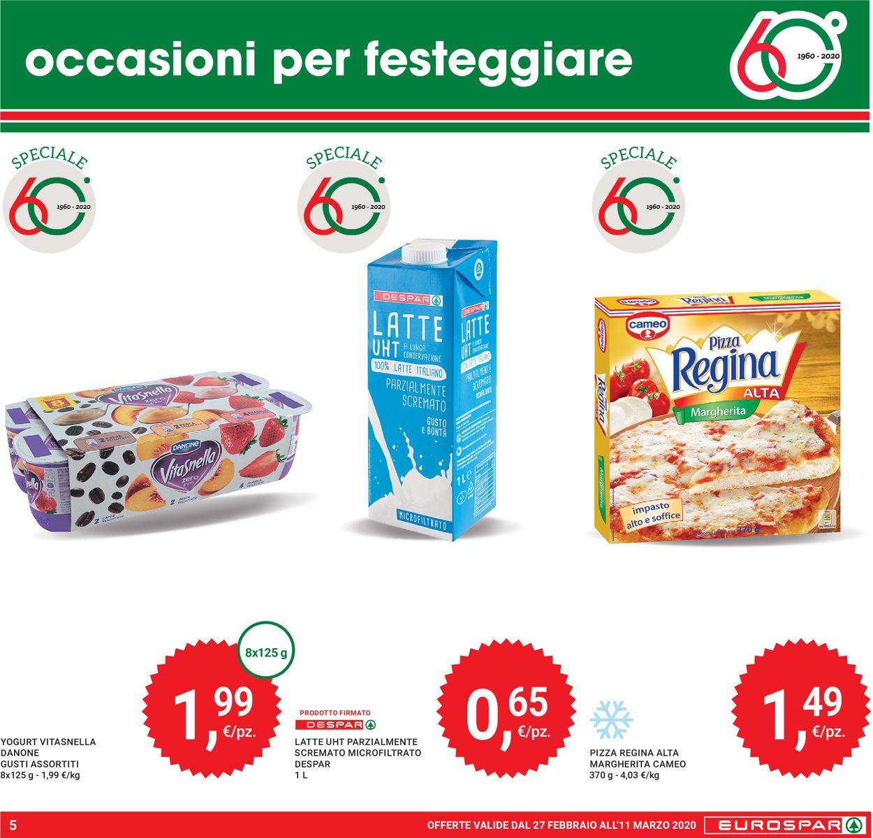 Volantino Eurospar - Offerte 27/02-11/03/2020 (Pagina 5)