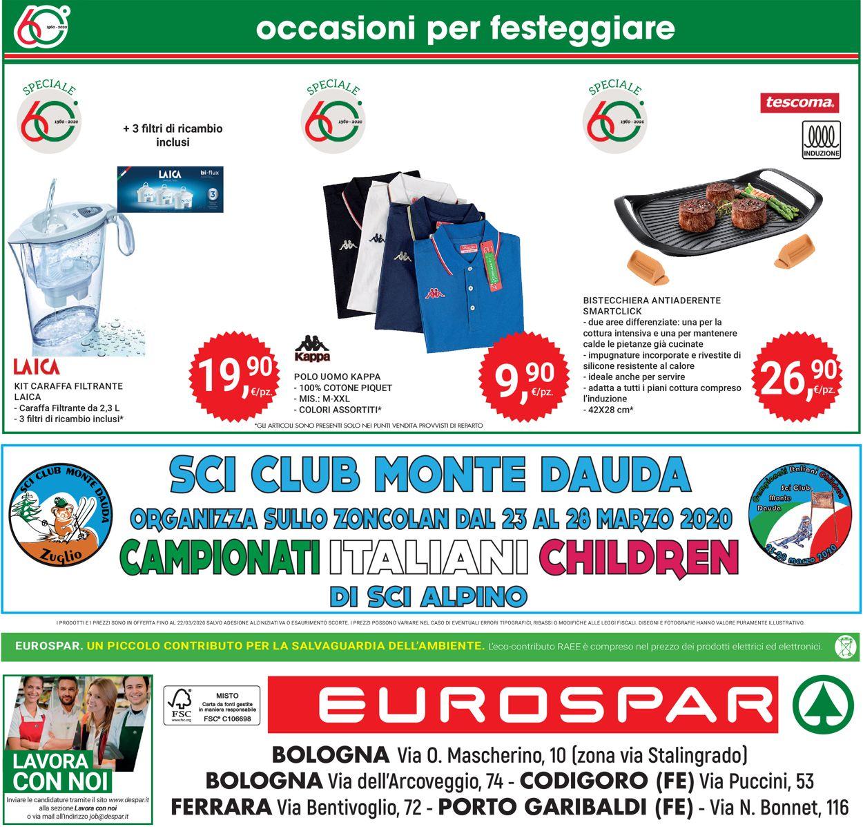 Volantino Eurospar - Offerte 12/03-22/03/2020 (Pagina 32)